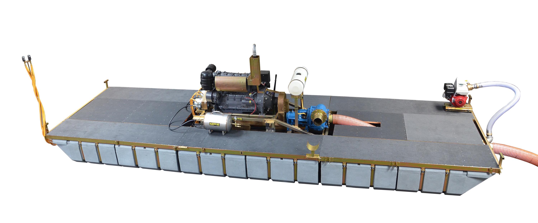 how to build a dredge pump